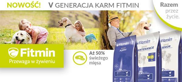 Fitmin Program - nowa szata 50% mięsa
