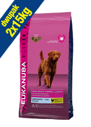EUKANUBA ADULT LARGE BREED WEIGHT CONTROL