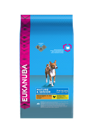 EUKANUBA MATURE & SENIOR MEDIUM BREED