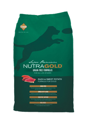 NUTRA GOLD GRAIN FREE DUCK and SWEET POTATO KARMA DLA PSA
