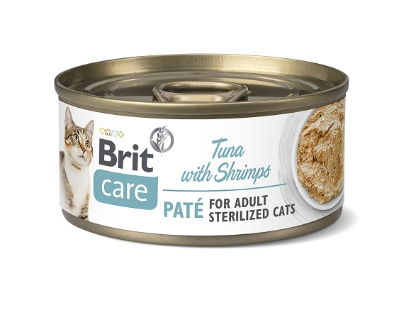 Brit Care karma dla sterylizowanych kotów - puszki