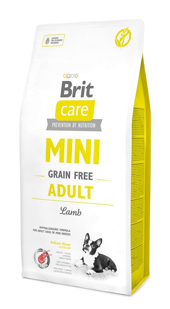 brit care adult mini sucha karma dla małego psa