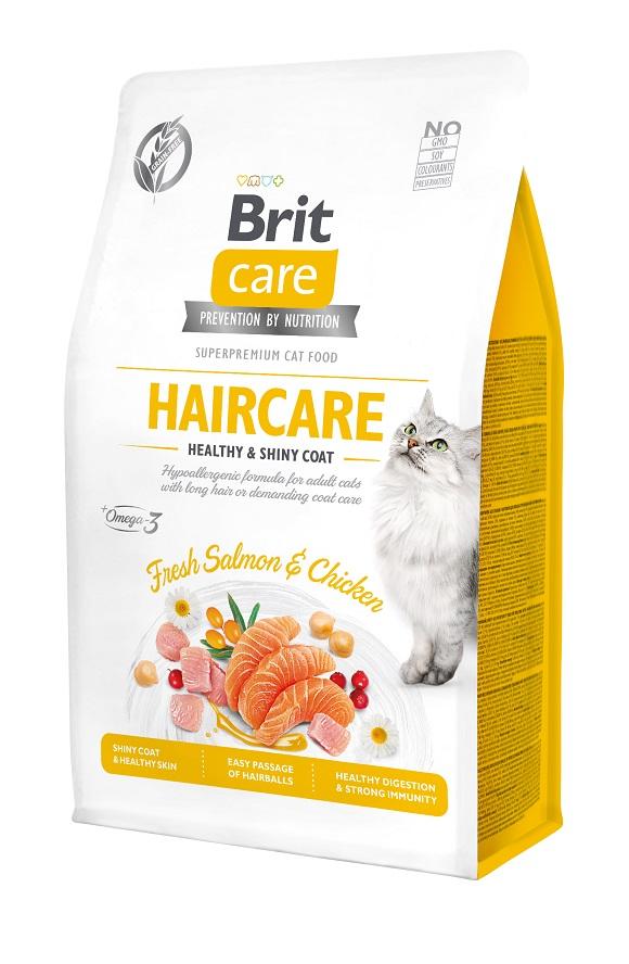 brit care adult grain free hair care sucha karma dla kota