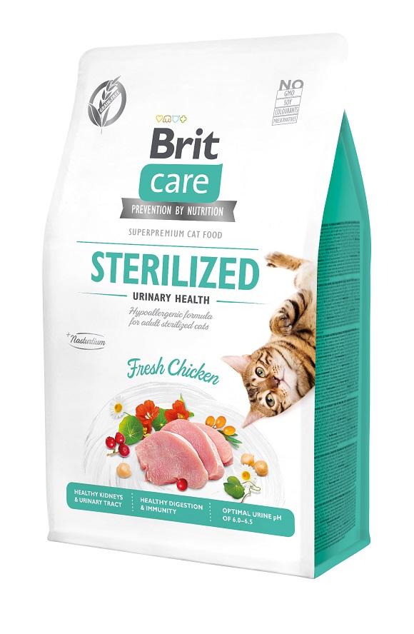 brit care sterilised grain free sucha karma dla sterylizowanego kota