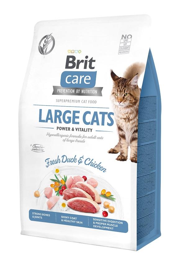 brit care large cats sucha karma dla dużego kota