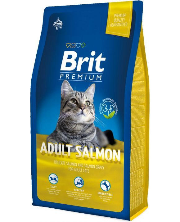 BRIT PREMIUM CAT ADULT SALMON KARMA DLA KOTÓW