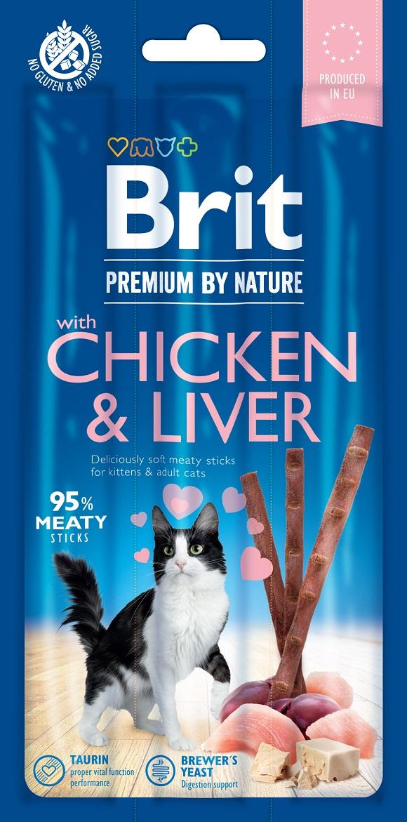 brit premium kabanosy dla kotów