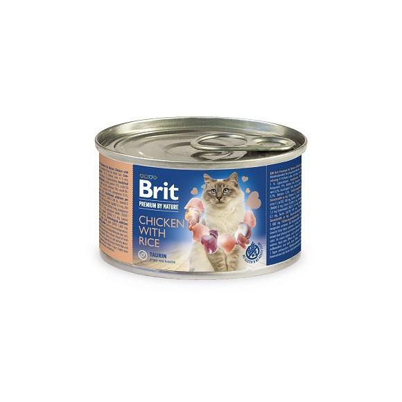 Brit Premium Cat pasztet dla kota - puszki