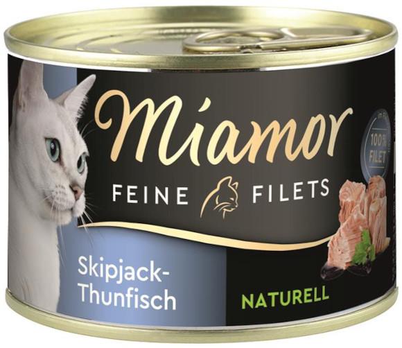 MIAMOR FEINE FILETS NATURELL KARMA DLA KOTA tuńczyk bonito