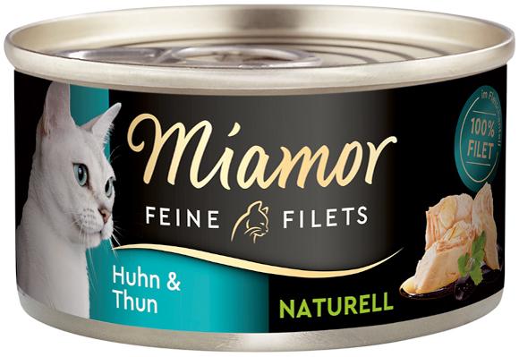 MIAMOR FEINE FILETS NATURELLE KARMA DLA KOTA kurczak z tuńczykiem