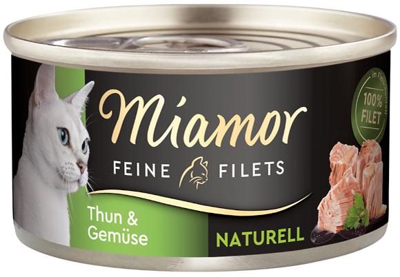 MIAMOR FEINE FILETS NATURELLE KARMA DLA KOTA tuńczyk z warzywami w sosie