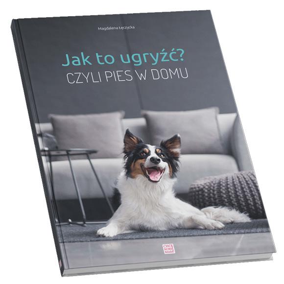 książka Magdalenia Łęczycka Jak to ugryżć czyli pies w domu
