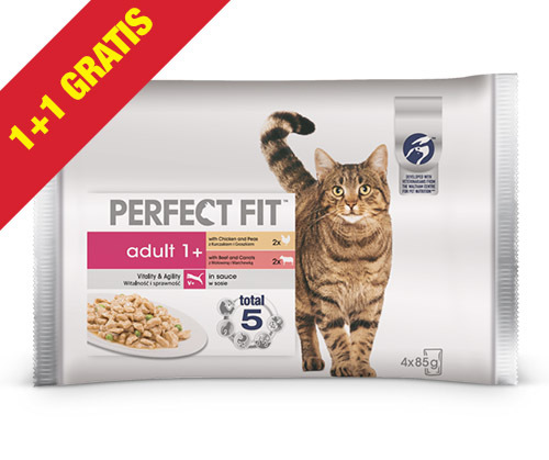 perfect fit karma dla kota w promocji 1+1 gratis