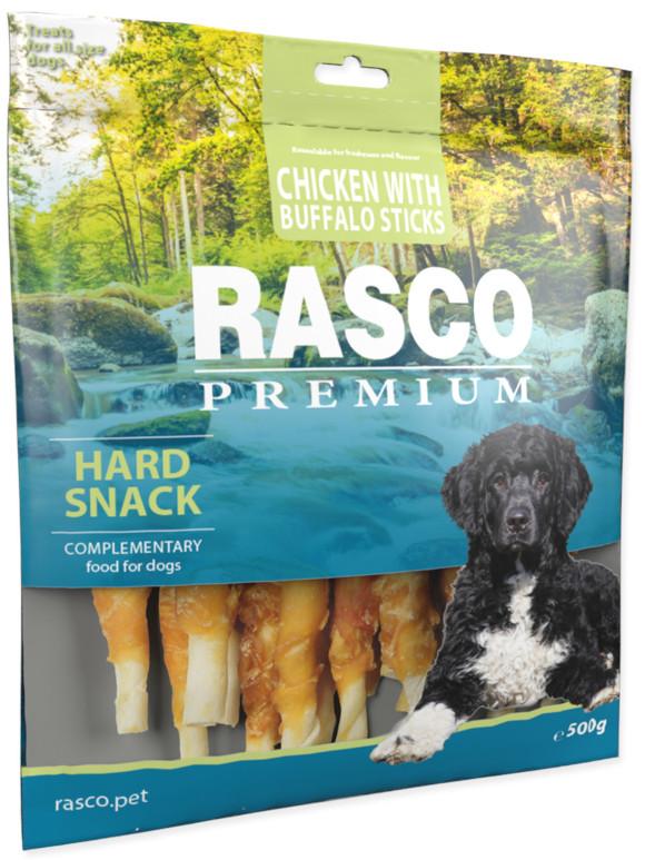 RASCO PREMIUM HARD SNACK CHICKEN WITH BUFFALO STICKS przysmaki dla psa