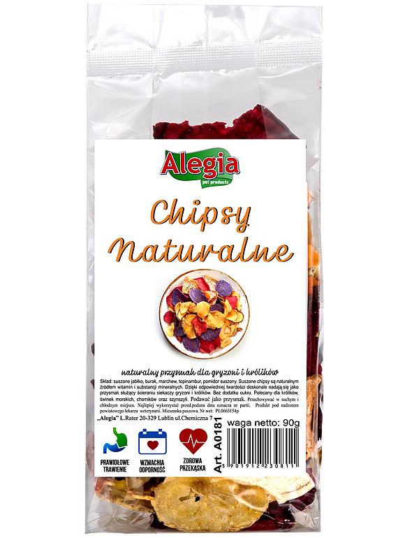 5901912230811 Chipsy dla gryzoni i królików, Alegia