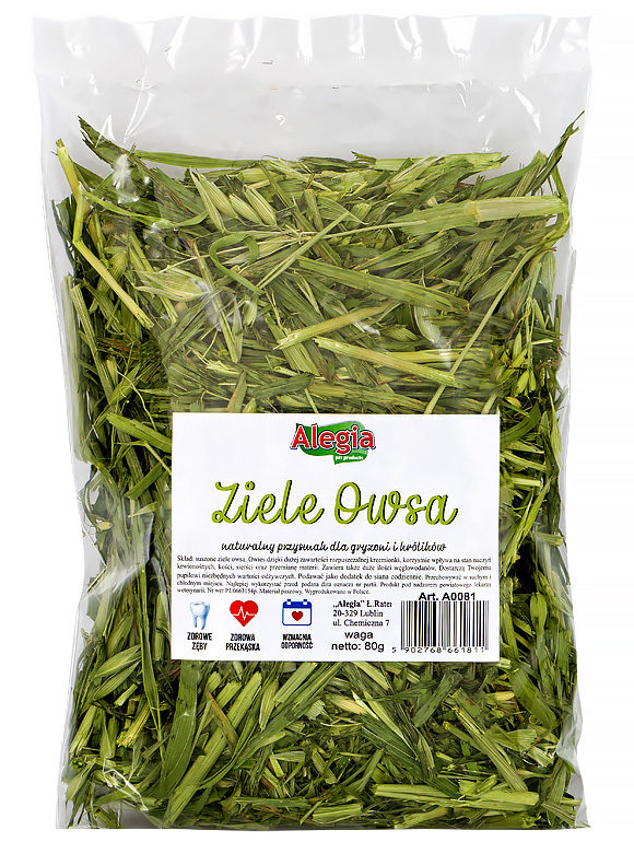 5902768661811  Alegia ziele owsa dla gryzoni i królików