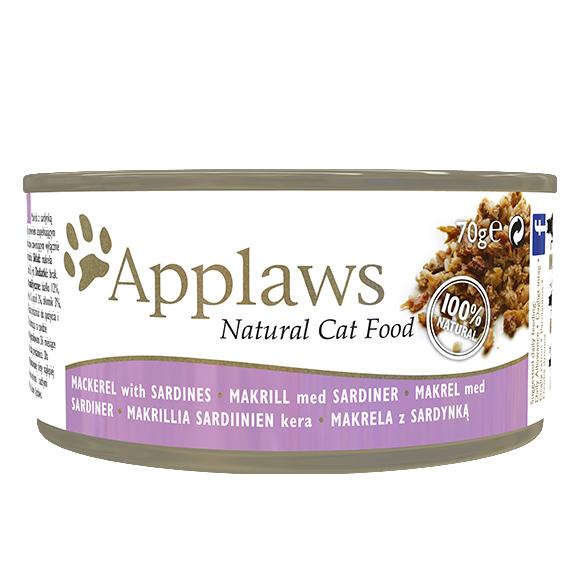 Applaws cat makrela sardynki mokra karma dla kotów