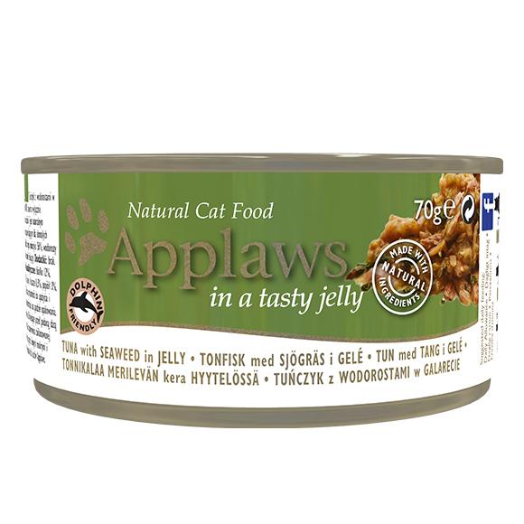Applaws mokra karma dla kotów tunczyk + algi