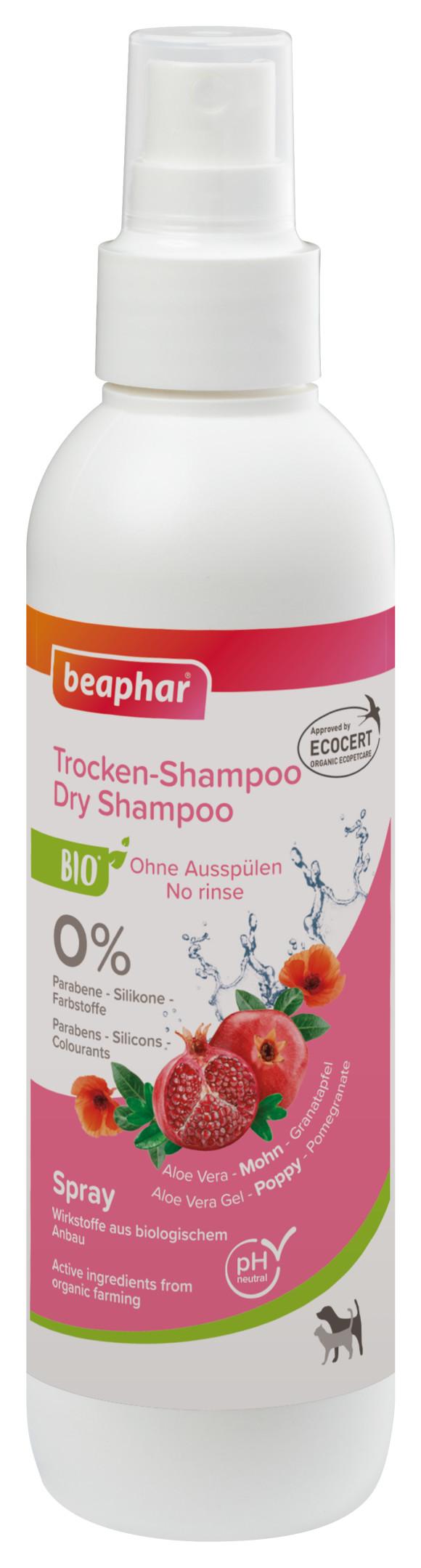 BEAPHAR BIO DRY SHAMPOO suchy szampon dla psa i kota