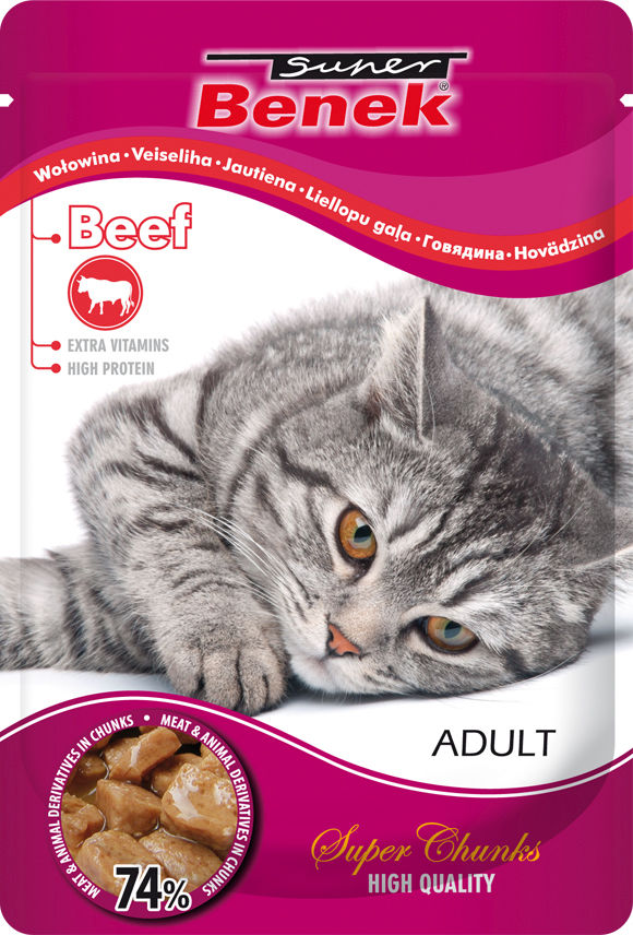 5905397017561 mokra karma Super Benek dla kota