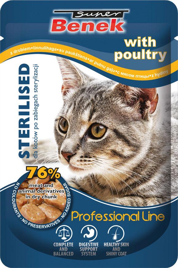 5905397017875 karma Super Benek dla sterylizowane kota,  saszetki