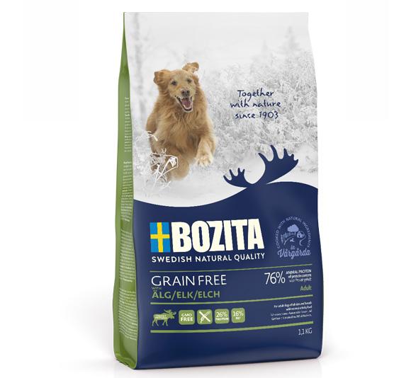 Bozita Grain free karma dla psa - z łosiem