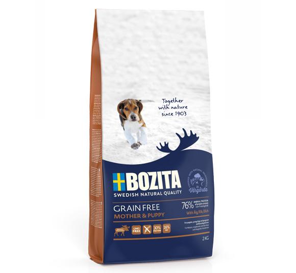 Bozita Grain free karma dla szczeniąt - z łosiem
