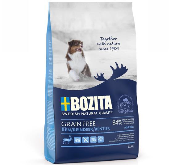 Bozita Grain free karma dla psa - z reniferem