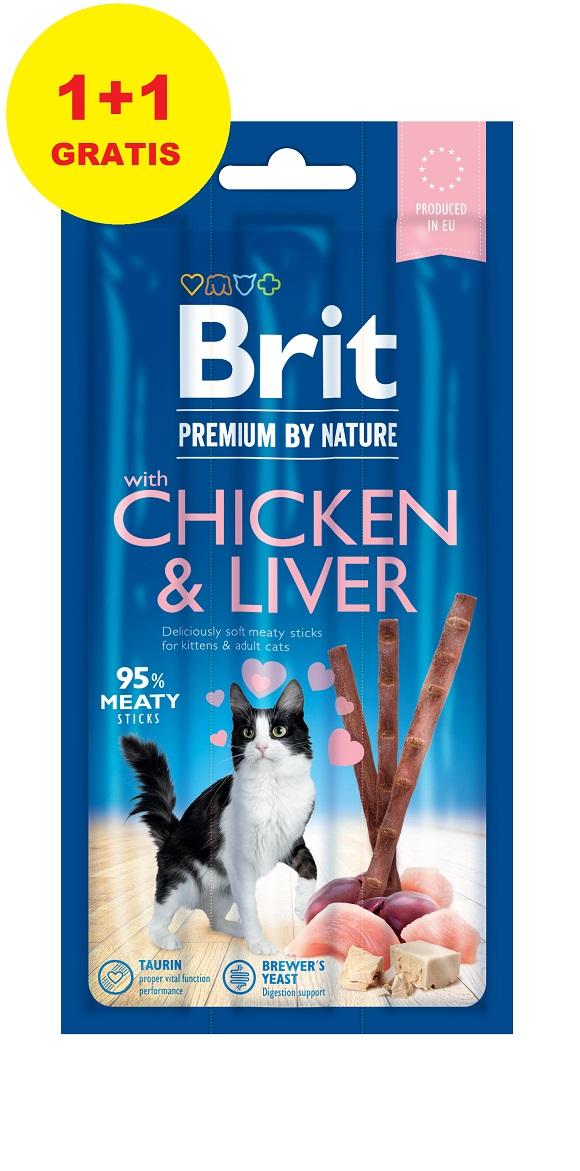 8595602544059 przysmaki Brit dla kota 1+1 gratis