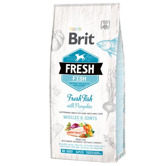 brit fresh adult large karma dla dużego psa