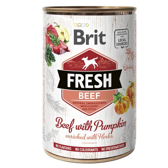 mokra karma brit fresh dla psa