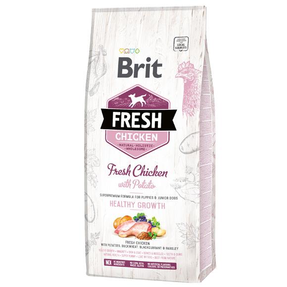 Brit Fresh sucha karma dla szczeniaka - kurczak i ziemniaki