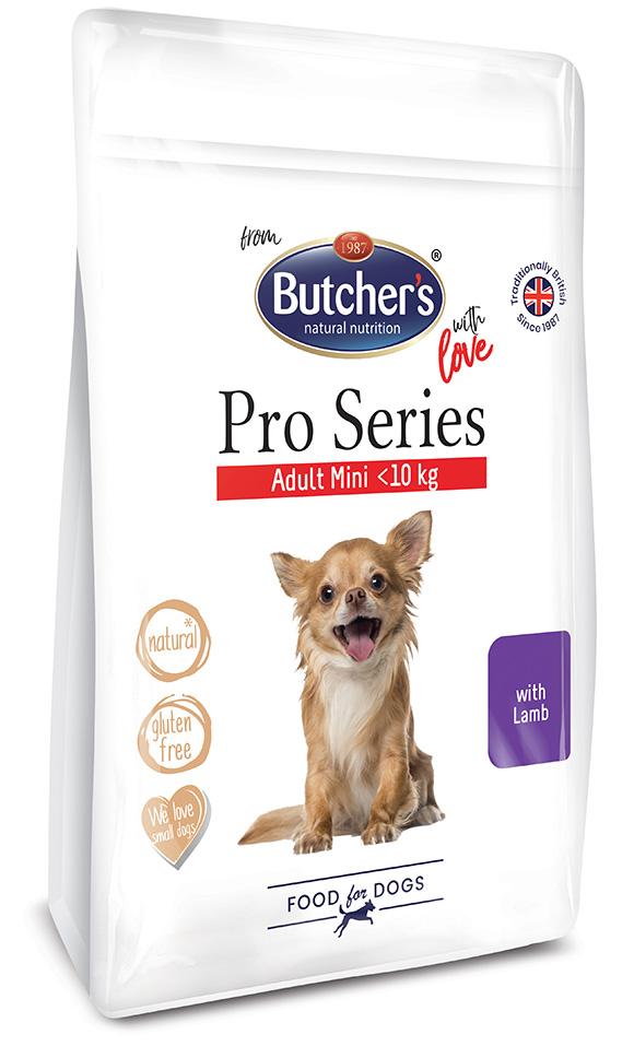 5011792003778 Butchers sucha karma z jagnięciną dla małych psów