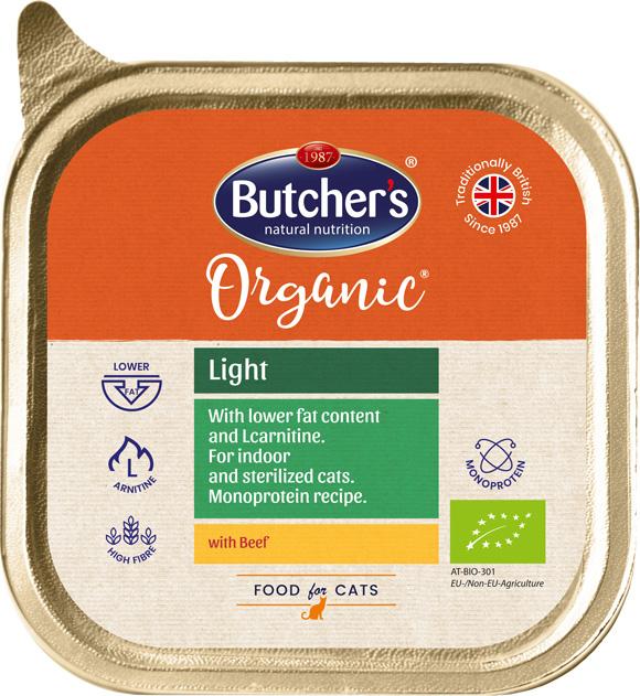 5011792004706 niskokaloryczna karma Butchers organic dla kota