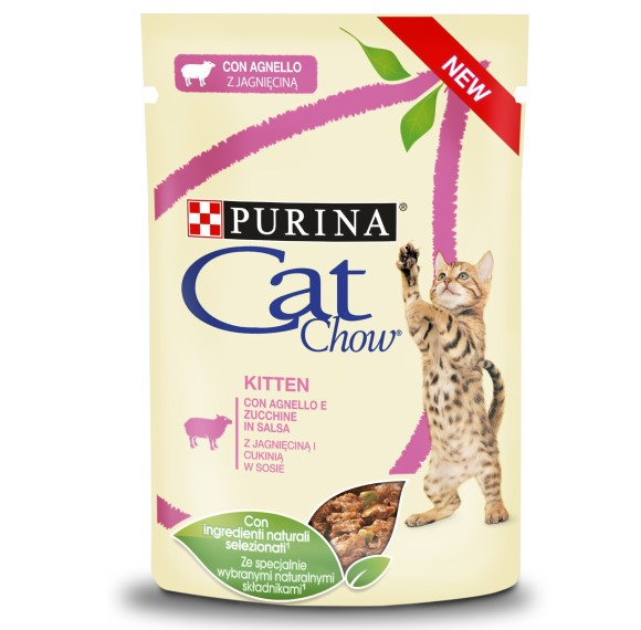 7613037025545 cat chow kitten mokra karma dla kociąt