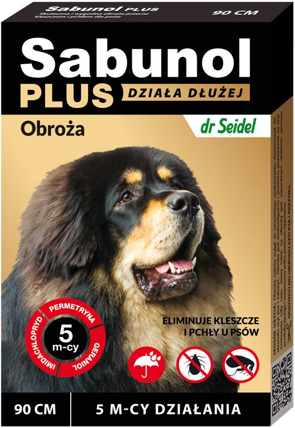 5901742001544 sabunol plus obroża dla psa