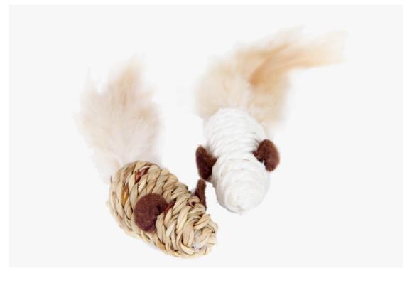zabawki myszki dla kota -  marki dingo