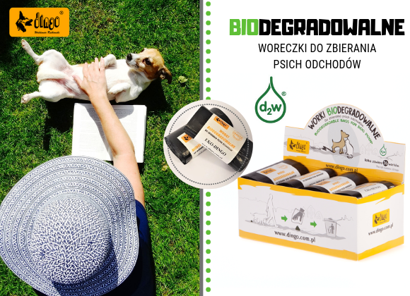 dingo woreczki biodegradowalne do sprzątania po psie