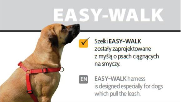 dingo szelki treningowe z taśmy dla psów