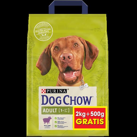 7613035255111 dog chow adult z jagnięciną karma dla psa