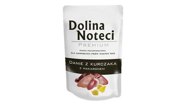Dolina Noteci Premium danie z kurczaka z makaronem mokra karma dla małego psa