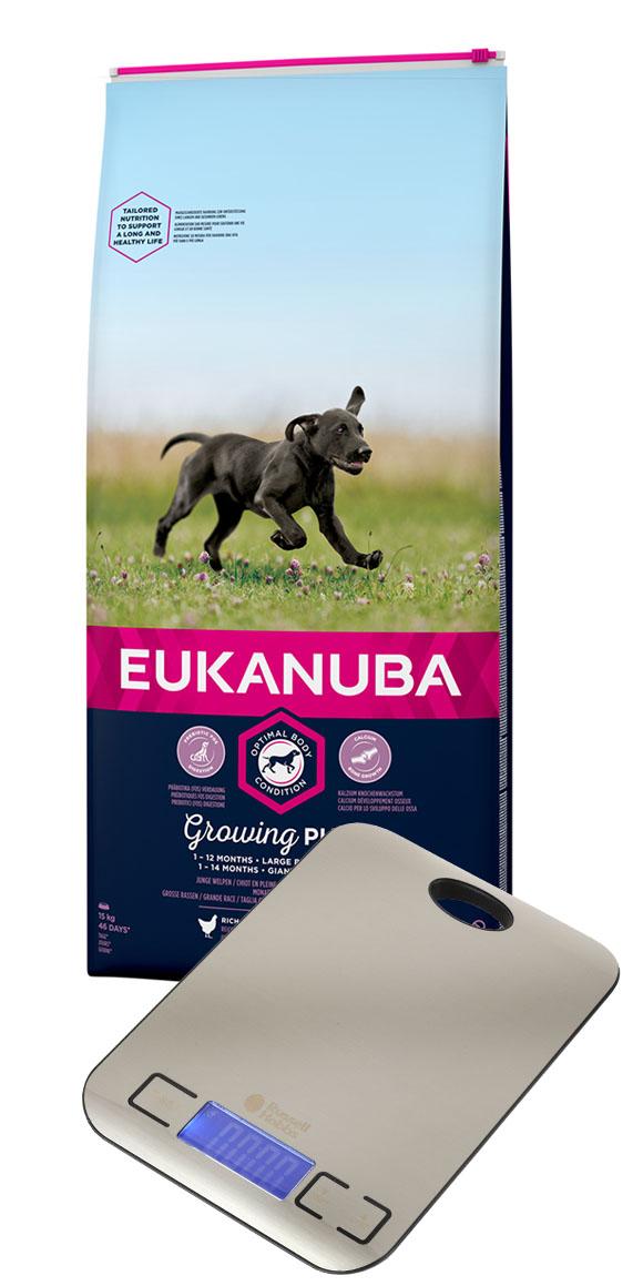 waga gratis do karmy eukanuba dla szczeniąt