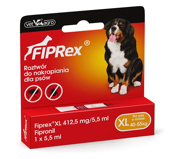 Fiprex dla psów preparat spot on na pchły i kleszcze