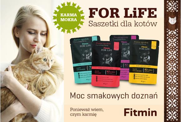 Fitmin for life mokra karma dla kota