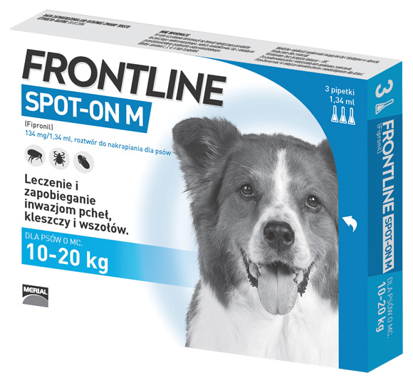 frontline krople dla psa