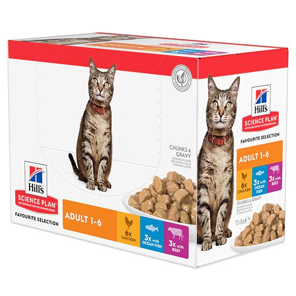 604010 mokra karma Hills dla kotów