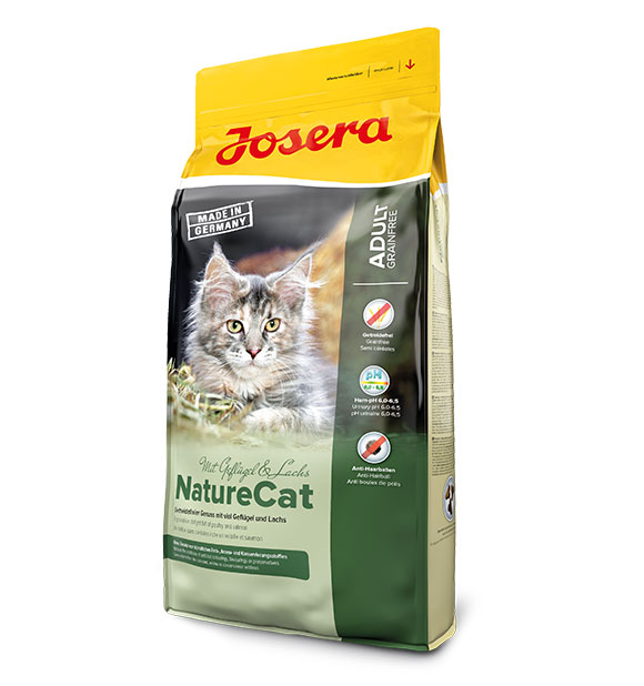 Josera NatureCat karma dla wrażliwego kota
