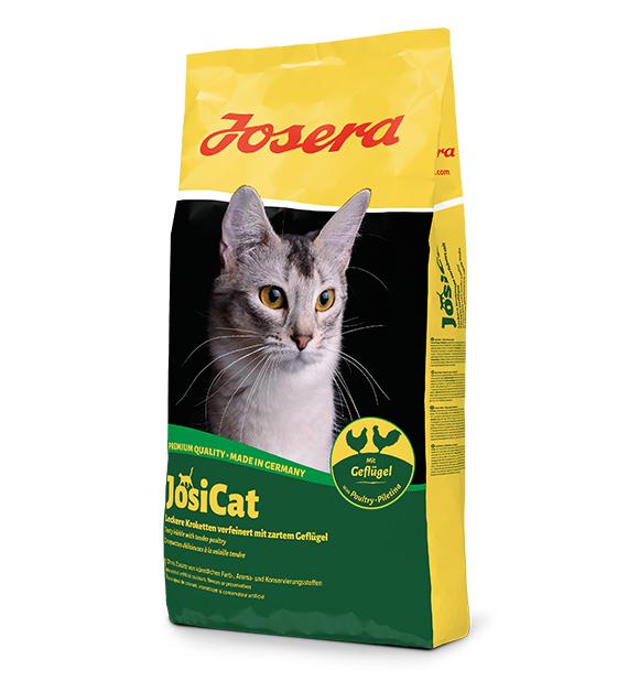 JosiCat Geflugel sucha karma dla kotów