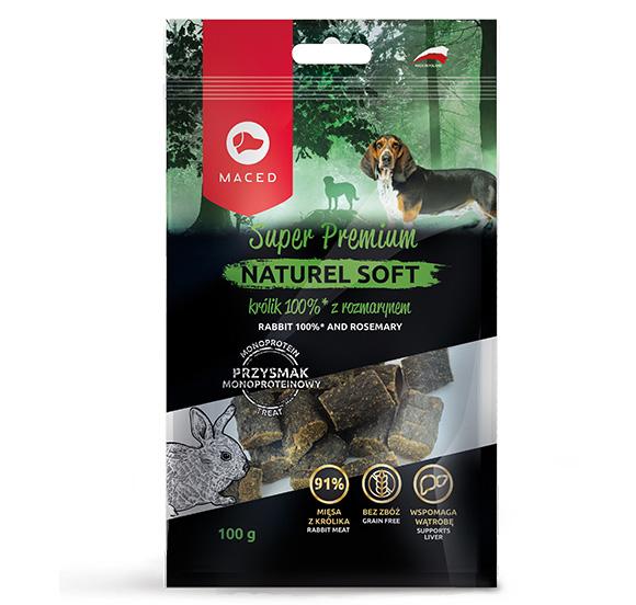 maced naturel soft krolik przysmak dla psow