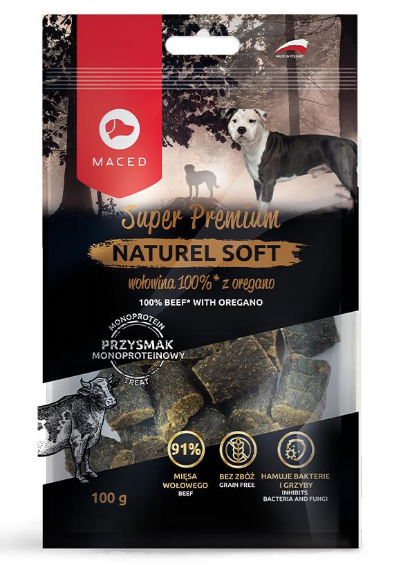 maced naturel soft przysmak dla psa - z wołowiną